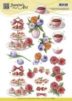 3D-Bogen - High Tea - Jeanines Art