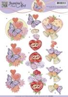3D-Bogen - Liebe und Hochzeit - Jeanines Art