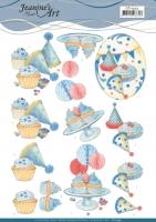 3D-Bogen - Kuchen-Party - Jeanines Art