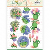 3D-Bogen - Welcome Spring - Jeanines Art
