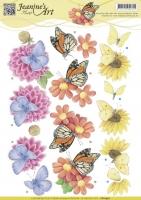 3D-Bogen - Schmetterlinge - Jeanines Art (930)
