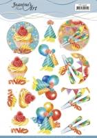 3D-Bogen - Happy Birthday - Jeanines Art