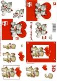 3D-Bogen Valentine von LeSuh (4169653)