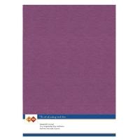 Karten-Karton mit Leinenstruktur A4 - azalea pink