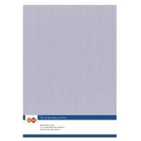Karten-Karton mit Leinenstruktur A4 - mouse grey - 1 Bogen