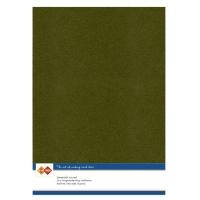 Karten-Karton mit Leinenstruktur A4 - pine green - 1 Bogen