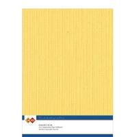 Karten-Karton mit Leinenstruktur A4 - ochre - 1 Bogen