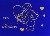 Sticker - Von Herzen - gold - 406