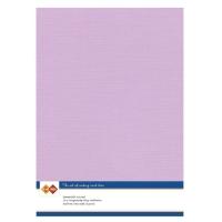 Karten-Karton mit Leinenstruktur A4 - magnolia pink - 1 Bogen