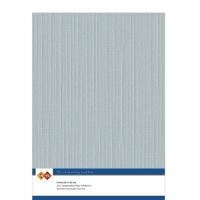 Karten-Karton mit Leinenstruktur A4 - grey - 1 Bogen