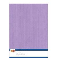Karten-Karton mit Leinenstruktur A4 - lilac - 1 Bogen
