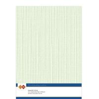 Karten-Karton mit Leinenstruktur A4 - light green - 1 Bogen