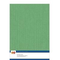 Karten-Karton mit Leinenstruktur A4 - green - 1 Bogen