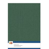 Karten-Karton mit Leinenstruktur A4 - christmas green - 1 Bogen