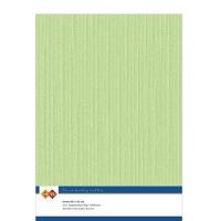 Karten-Karton mit Leinenstruktur A4 - may green - 1 Bogen