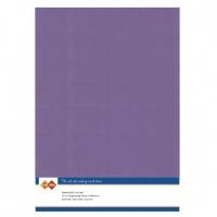 Karten-Karton mit Leinenstruktur A4 - grape - 1 Bogen
