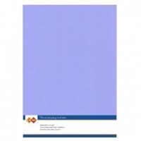 Karten-Karton mit Leinenstruktur A4 - lavender - 1 Bogen