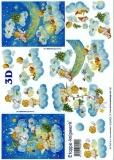 3D-Bogen Engel auf Wolke von LeSuh (4169401)