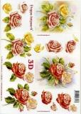 3D-Bogen Rosen von LeSuh (4169284)