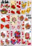 3D-Bogen Rosen klein von LeSuh (4169797)