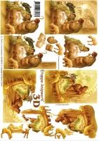3D-Bogen Krippe von LeSuh (4169515)