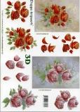 3D-Bogen Rosen von LeSuh (4169229)
