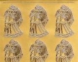 Sticker - Hochzeit 1 - gold - 109