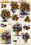 3D-Bogen Sonnenblumen & Anemonen von LeSuh (4169832)