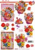 3D-Bogen Rosen von LeSuh (4169794)