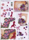 3D-Bogen Blumen von LeSuh (416910)