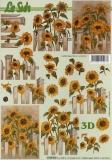 3D-Bogen Sonnenblumen von LeSuh (4169874)