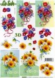 3D-Bogen Blumen von LeSuh (4169871)