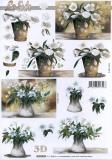 3D-Bogen Weiße Blumenvon LeSuh (4169844)