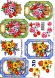 3D-Bogen Blumen im Rahmen von LeSuh (4169144)