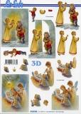 3D-Bogen Christkind Geburt von LeSuh (4169942)