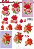 3D-Bogen Rosen von LeSuh (4169853)