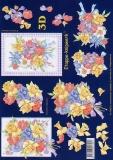 3D-Bogen Frühlingsstrauß von LeSuh (4169491)