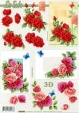 3D-Bogen Rosen von LeSuh (4169699)