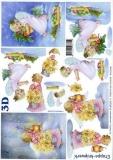 3D-Bogen Weihnachtsengel von LeSuh (4169324)