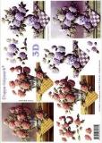 3D-Bogen Hortensien von LeSuh (416961)
