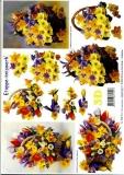 3D-Bogen Frühlingssträuße von LeSuh (4169152)