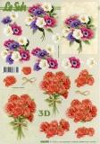 3D-Bogen Rosen + Anemone von LeSuh (4169996)