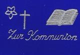 Sticker - Zur Kommunion - silber - 413