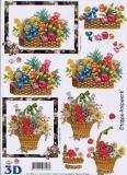3D-Bogen Blumenkörbe von LeSuh (4169121)