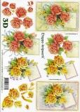 3D-Bogen Rosen von LeSuh (4169220)