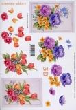 3D-Bogen Tulpen und Anemonen von LeSuh (416915)