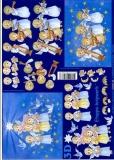 3D-Bogen Engel blau von LeSuh (4169143)
