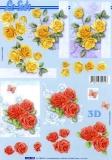 3D-Bogen Rosen von LeSuh (4169705)