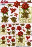 3D-Bogen Weihnachtsblumen von LeSuh (4169747)