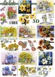 3D-Bogen Blumen klein von LeSuh (4169673)